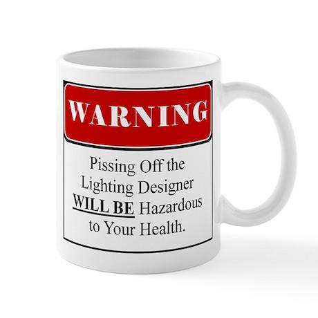 Pissing OffLighting Designer 002 Mug