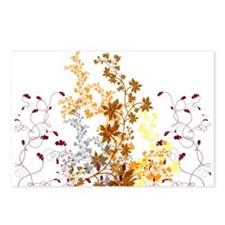 Autumn Swirls Postcards (Package of 8)