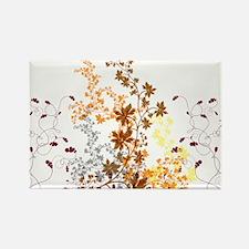 Autumn Swirls Rectangle Magnet (10 pack)