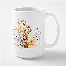 Autumn Swirls Large Mug