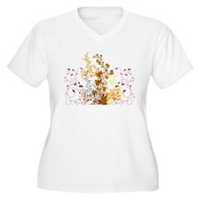 Autumn Swirls T-Shirt