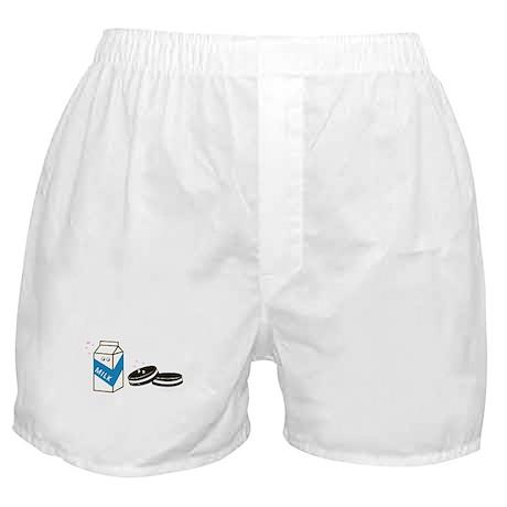 Oreos and Milk Boxer Shorts