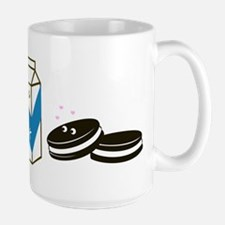 Oreos and Milk Large Mug