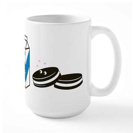 Oreos and Milk Large Mug