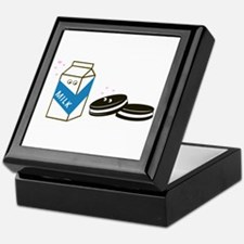 Oreos and Milk Keepsake Box
