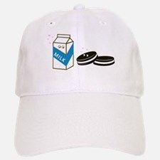 Oreos and Milk Baseball Baseball Cap