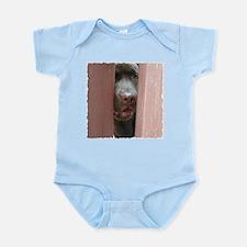 Brown Noser Infant Creeper