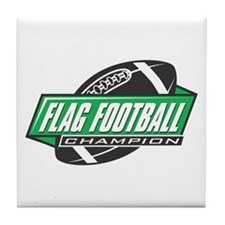 Flag Football Champion Tile Coaster