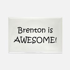 Cute Brenton Rectangle Magnet