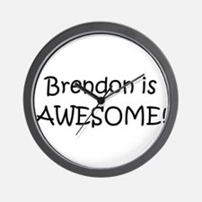 Funny Brendon Wall Clock