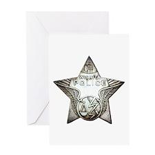 Wichita Police Greeting Card