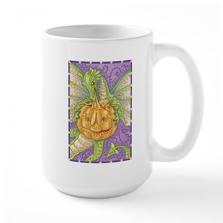 Halloween Dragon Large Mug