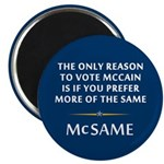 McCain is the Same Magnet