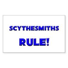 Scythesmiths Rule! Rectangle Decal