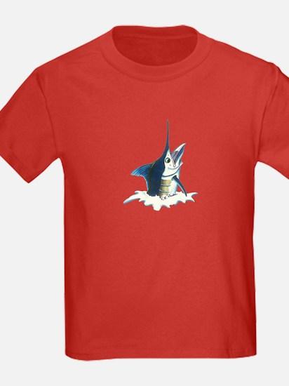 Blue marlin Jumping T