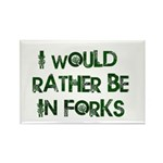 Rather Be in Forks Rectangle Magnet (10 pack)