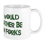 Rather Be in Forks Mug