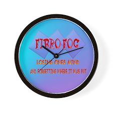 Fibro Fog Wall Clock
