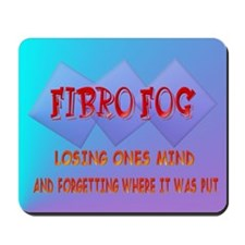 Fibro Fog Mousepad