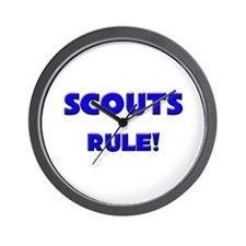 Scouts Rule! Wall Clock