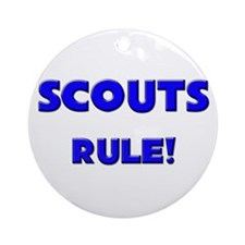 Scouts Rule! Ornament (Round)