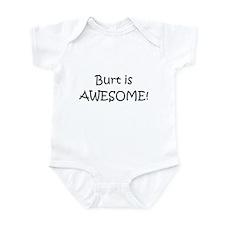 Funny I love name Infant Bodysuit