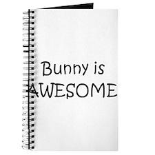 Cool Bunny love Journal