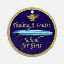 School for Girls Ornament (Round)