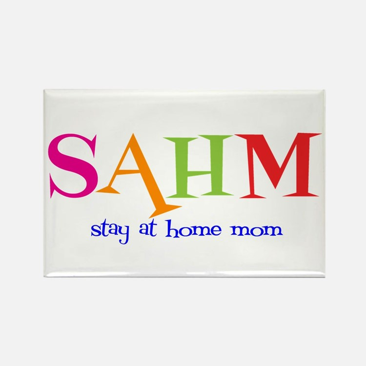Stay at Home Mom Rectangle Magnet