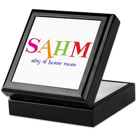 Stay at Home Mom Keepsake Box