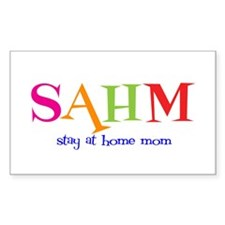 Stay at Home Mom Rectangle Decal