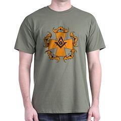 Masonic Bats and Maltese Cross T-Shirt