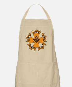 Masonic Bats and Maltese Cross BBQ Apron