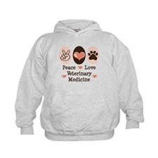 Peace Love Veterinary Medicine Hoodie