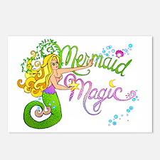 Mermaid Magic Postcards (Package of 8)