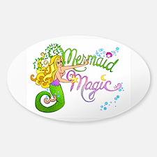 Mermaid Magic Sticker (Oval)