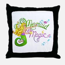 Mermaid Magic Throw Pillow