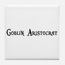 Goblin Aristocrat Tile Coaster