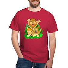 Lion Tiger and Bear T-Shirt