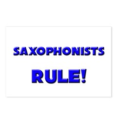 Saxophonists Rule! Postcards (Package of 8)