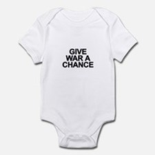 Cute Peace firepower Infant Bodysuit