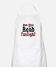 Real Men Read Twilight BBQ Apron