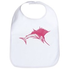 Pink Sailfish Bib