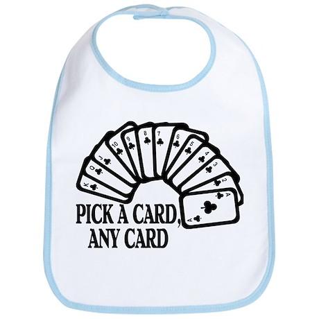 Pick A Card Bib