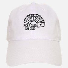 Pick A Card Baseball Baseball Cap