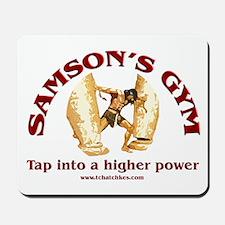 Samson's Gym Higher Power Mousepad