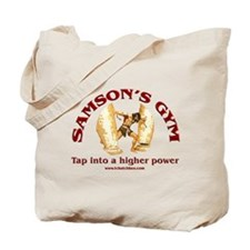 Samson's Gym Higher Power Tote Bag