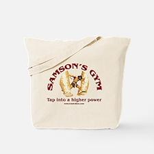 Samson's Gym Higher Power Tote Bag