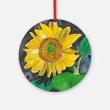 Sunflower Burst Keepsake (Round)
