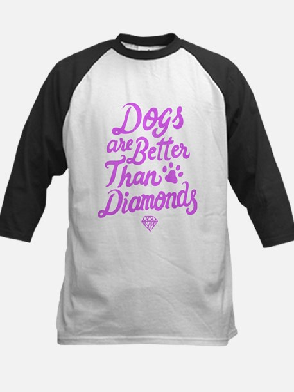 Dogs Are Better Than Diamond T Shi Baseball Jersey